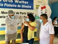 CÂMARA MUNICIPAL DE PORTO WALTER ACOMPANHA O RECEBIMENTO DAS PRIMEIRAS DOSES DE VACINA PARA COVID-19