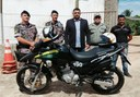 Município de Porto Walter recebe Motocicleta para o Policiamento